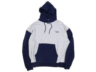 KEBOZ TWO TONE PULLOVER GREY/NAVY