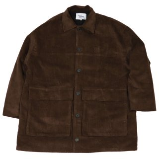 KEBOZ CORDUROY COVERALL DARK BROWN