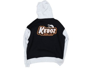 KEBOZ TWO TONE KBC PULLOVER BLACK/GREY