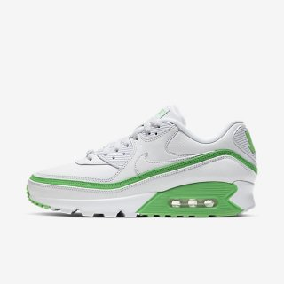 NIKE x UNDEFEATED AIR MAX 90 WHITE/GREEN SPARK<BR>ナイキxアンディフィーテッド マックス90 ホワイト/グリーンスパーク