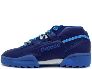 REEBOK x PALACE SKATEBOARDS WORKOUT CLEAN MID RIPPLE BLUE<BR>リーボック パレス スケートボード ワークアウト クリーンミッド リップル