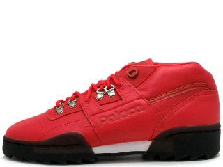 REEBOK x PALACE SKATEBOARDS WORKOUT CLEAN MID RIPPLE RED<BR>リーボック パレス スケートボード ワークアウト クリーンミッド リップル