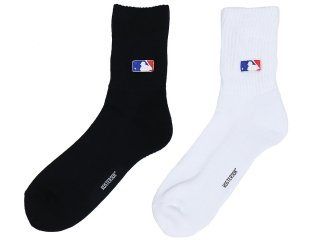 ROSTER SOX LOOSE EMB MLB LOGO SOCKS<BR>ロスターソックス ルーズ エンブロイ メジャーリーグ ロゴ ソックス
