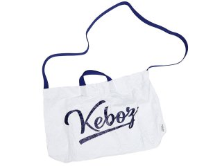 KEBOZ x INFIELDER DESIGN MINI BAG WHITE/NAVY