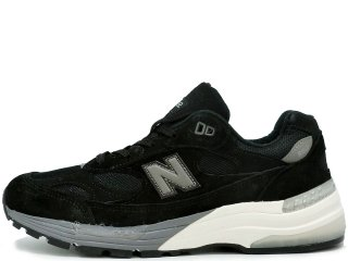 NEW BALANCE M992BL  MADE IN THE USA BLACK/GREYWHITE <BR>ニューバランス 992 ブラック アメリカ製