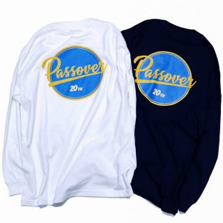 PASSOVER 20th EXCLUSIVE BY KEBOZ PO LOGO L/S TEE