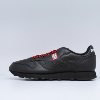 REEBOK x HAVE A GOOD TIME CL LEATHER HAGT BLACK<BR>リーボック ハブ ア グット タイム クラシック レザー ブラック