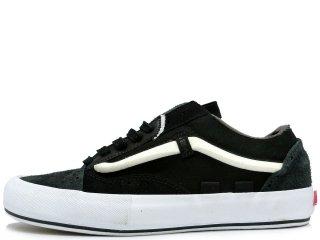 VANS OLD SKOOL CAP LX BLACK/WHITE<BR>バンズ オールドスクール キャップ ブラック/ホワイト