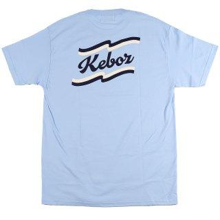 KEBOZ KL S/S TEE SKY BLUE/NAVY/WHITE