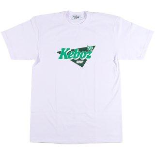 KEBOZ NPK S/S TEE WHITE/GREEN/DARK GREEN