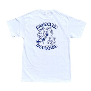 PASSOVER 20th EXCLUSIVE BY BOY≒GIRL S/S TEE WHITE