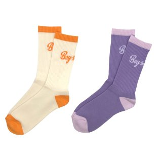 BOY≒GIRL LOGO SOCKS