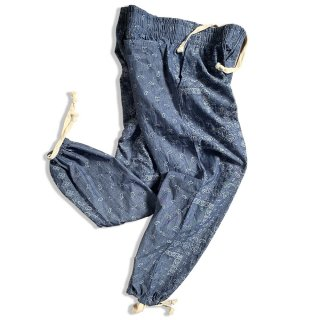 COZYHOUSETOKYO 日常着 PAISLEY MIX CHAMBRAY PAJAMA PANTS