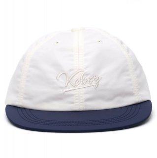 KEBOZ 2 TONE NYLON CAP NAVY/WHITE