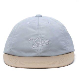 KEBOZ 2 TONE NYLON CAP KHAKI/SLATE BLUE