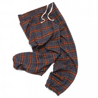 COZYHOUSETOKYO 日常着 PAJAMA PANTS PLAID GREY