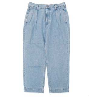 KEBOZ BUGGY TAPERED DENIM ICE BLUE