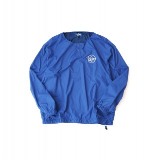 KEBOZ HENRY NECK NYLON JACKET BLUE