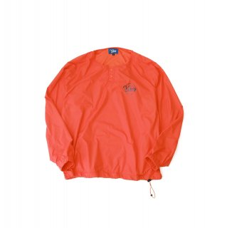 KEBOZ HENRY NECK NYLON JACKET ORANGE