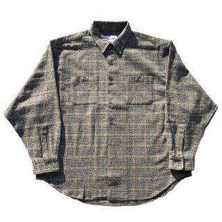 BOY≒GIRL FLANNEL WIDE SHIRTS MUSTARD