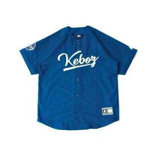KEBOZ x STARTER BLACK LABEL BASEBALL SHIRTS 3.0 MARINE BLUE