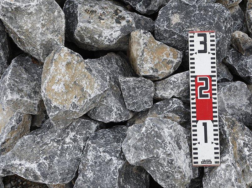 揖斐青白割栗石(150-300mm)