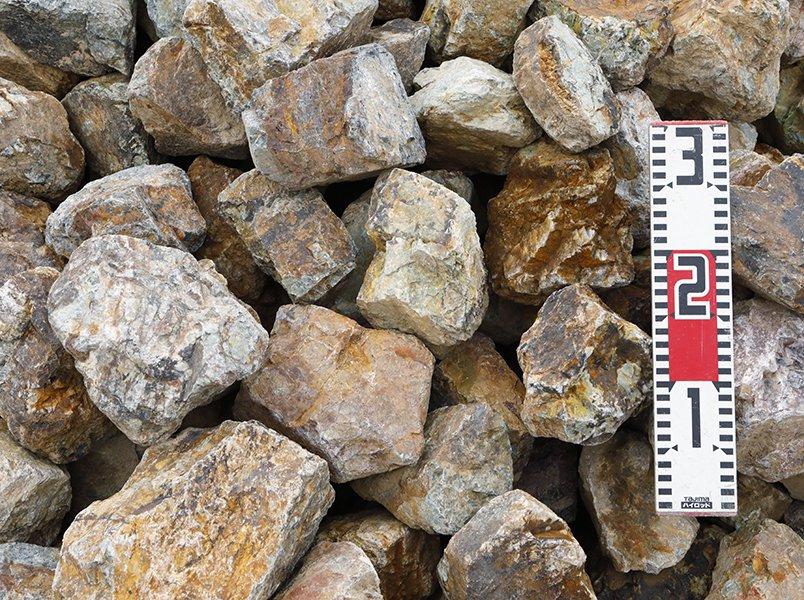 岐阜石割栗石(50-150mm)