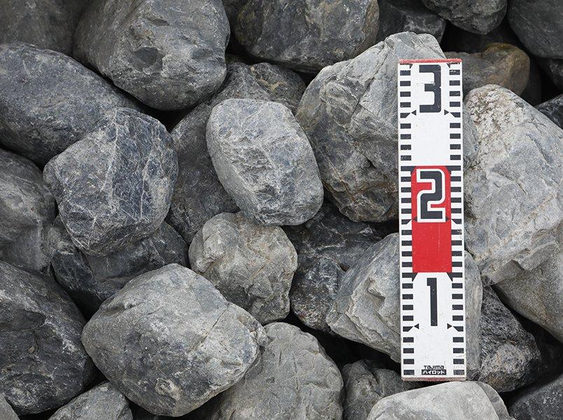 揖斐黒ゴロタ石