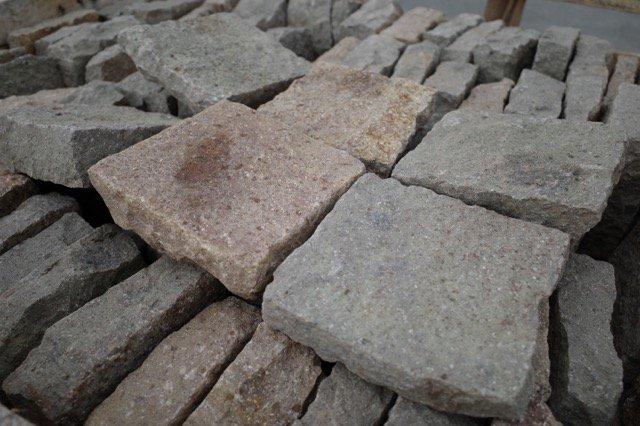 ヨーロピアン敷石「フランドルポリフィド」(210*140mm)