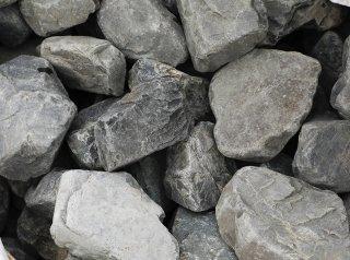 揖斐黒ゴロタ石延段