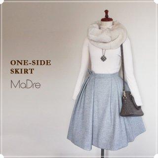 30%OFF [MaDre] ワンサイド スカート