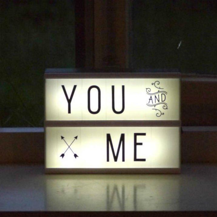 A Little Lovely Company(リトルラブリーカンパニー)<br>Light box Letter set Basic <br> ライトボックスレターセット ベーシック
