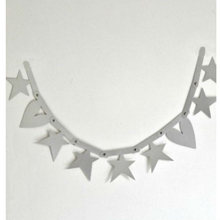 A Little Lovely Company(リトルラブリーカンパニー)<br>Letter banner Silver<br>レターバナー シルバー