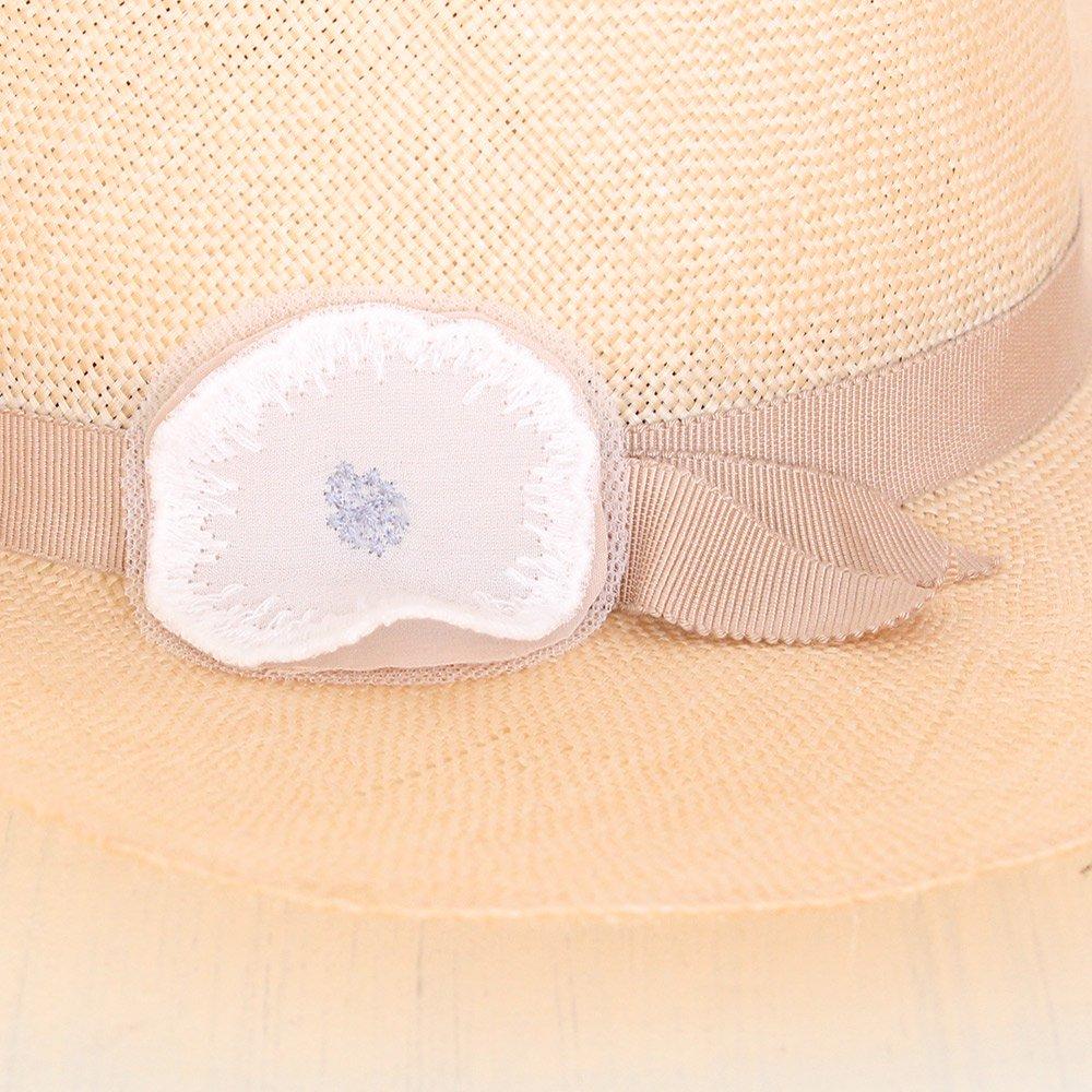 【送料無料】mina perhonen(ミナペルホネン)2017SS<br> jelly flower 麦わら帽子