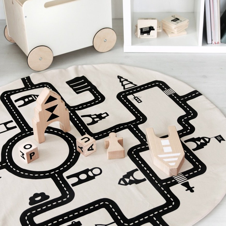 ooh noo(オーノー)<br>  Little Village Baby Play Mat<BR>プレイマット