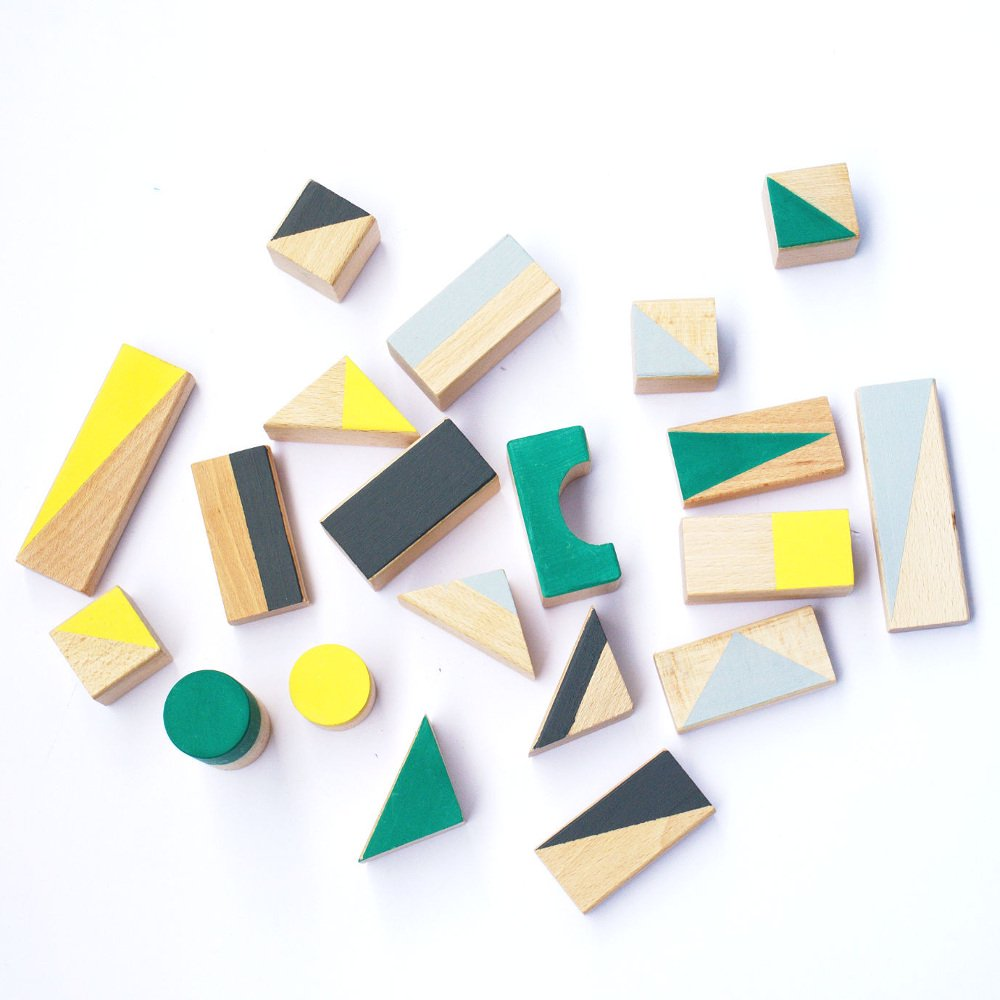 happy little folks(ハッピーリトルフォークス)<br> wooden blocks(木製ブロック) <BR> Autumn colours