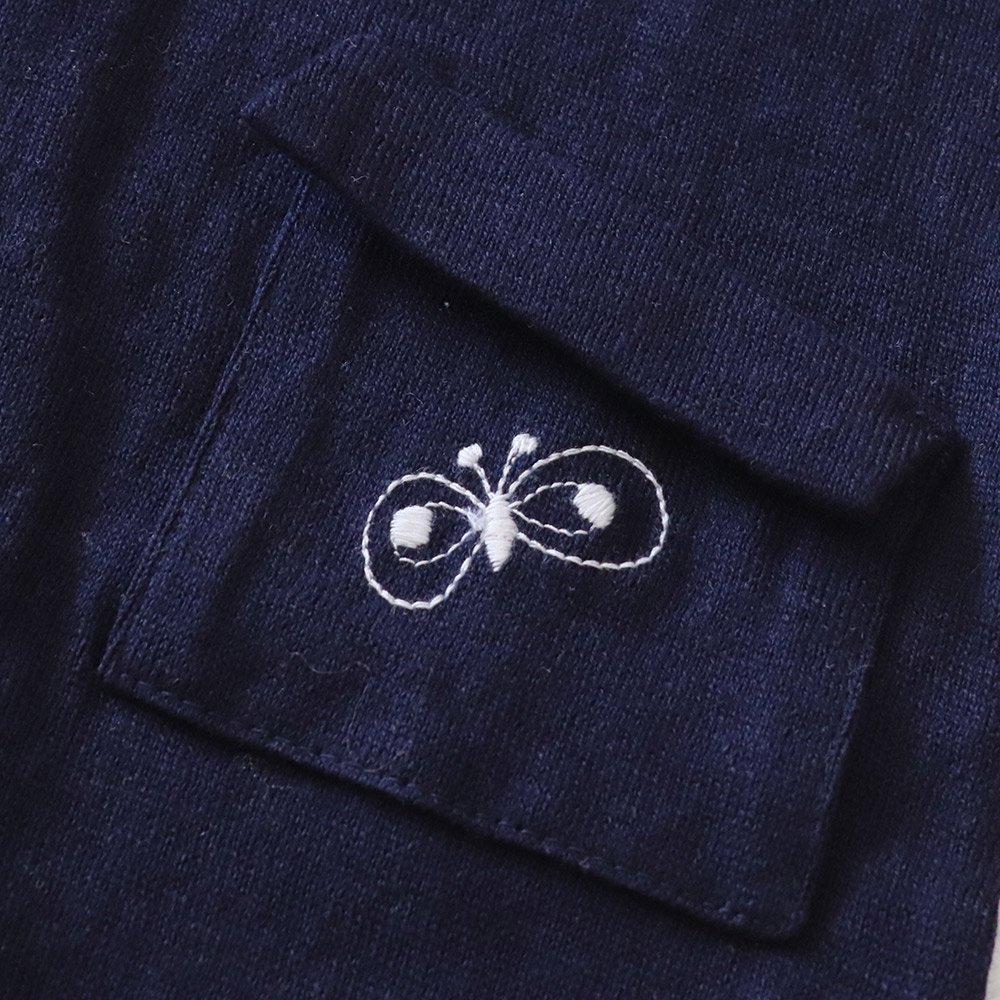 【メール便送料無料】mina perhonen(ミナペルホネン)2018SS<br> choucho  半袖カットソー