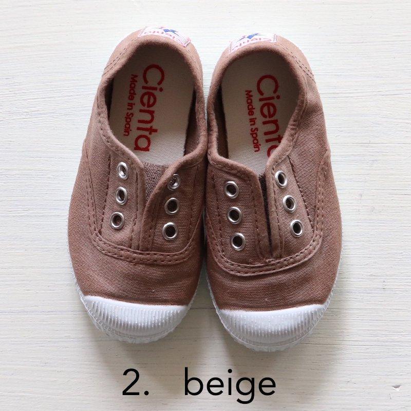 【4月中旬〜下旬入荷のご予約】Cienta(シエンタ)2020SS<br>キッズ デッキシューズ 靴<br>スニーカー