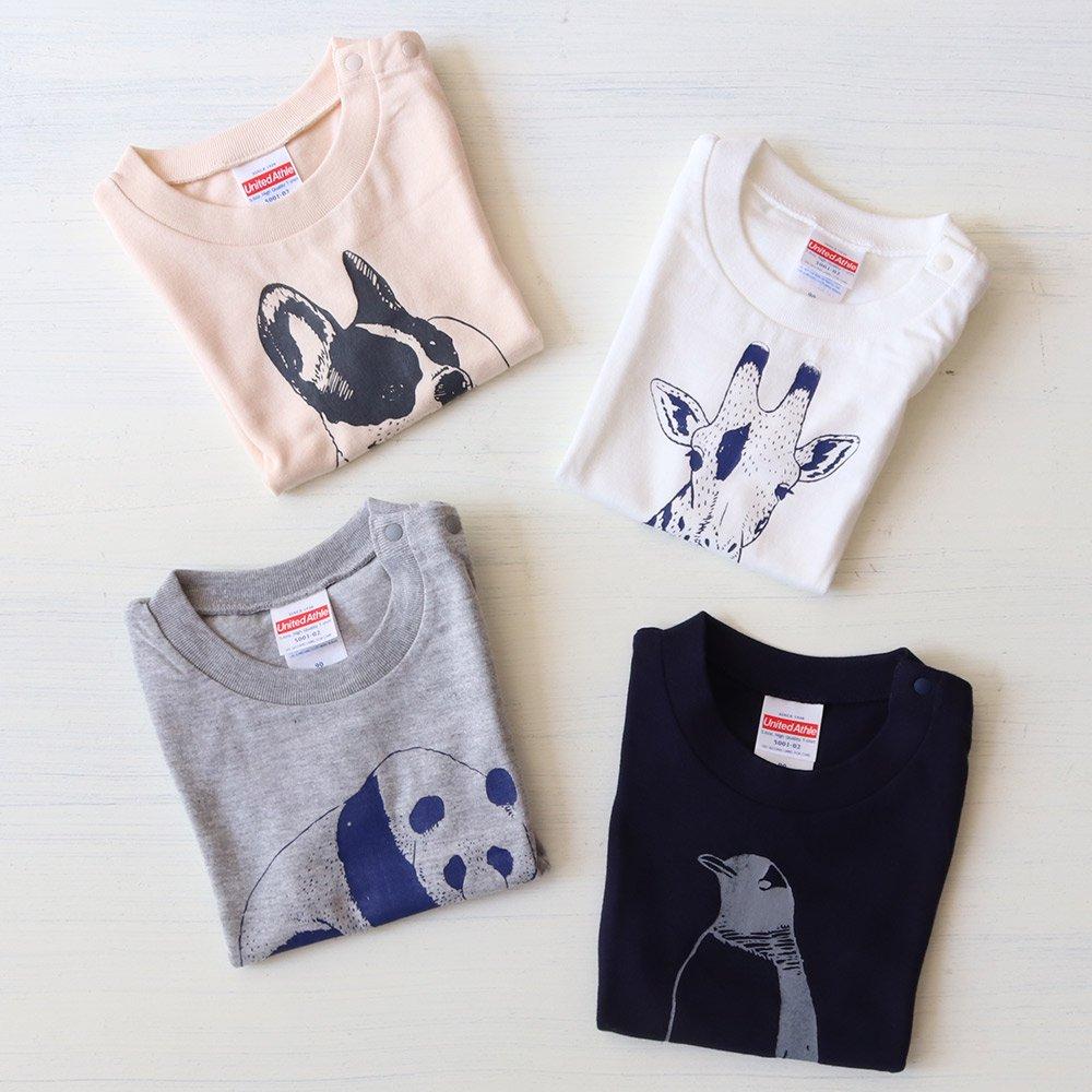 【30%OFFセール】ameno store(アメノストア)<br> アニマル半袖Tシャツ