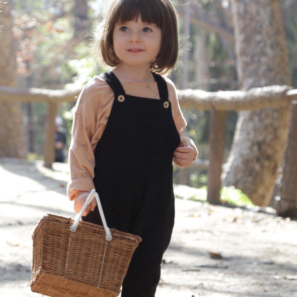 Olli Ella(オリエラ)<br>PIKI BASKET<BR>natural、straw<BR>(バスケット、収納カゴ)