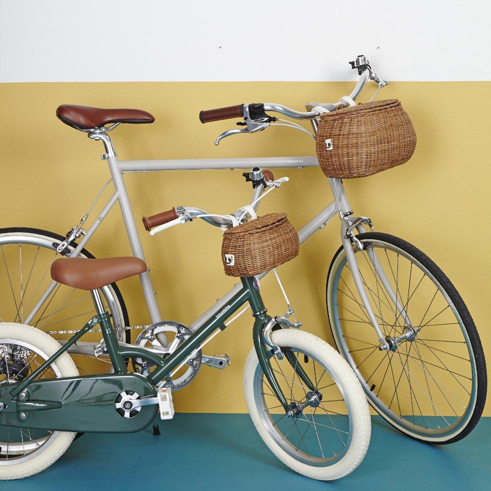 【送料無料】Olli Ella(オリエラ)<br>MINICHARI BAG<BR>natural、straw<BR>2wayバスケットショルダー<br>自転車カゴ