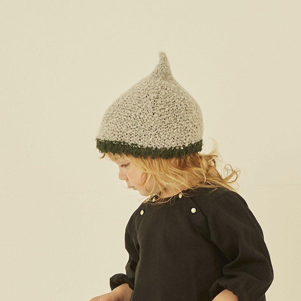 【30%OFFセール】eLfinFolk (エルフィンフォルク)2019AW<br>pygmy cap<BR>ピグミーキャップ<BR>(ニット帽、帽子)