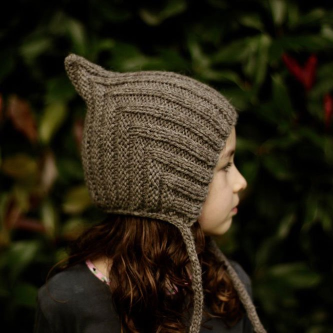 Typically Red(ティピカリーレッド)<br>Chubby Pixie hat <BR>Storm<BR>ボンネット ニット帽