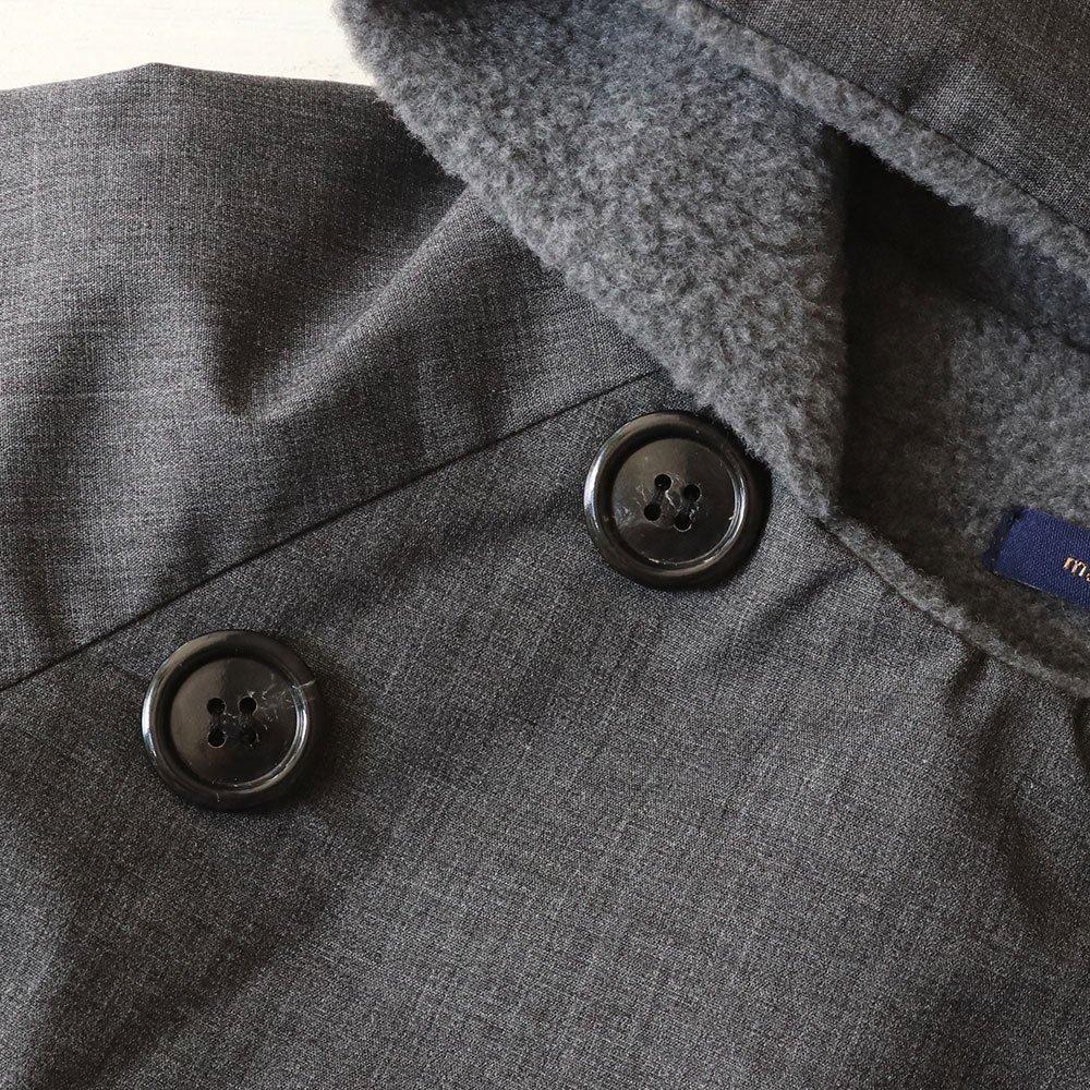 【40%OFF セール】makie(マキエ)2018aw<br> gasa jacket<BR>ガサジャケット<BR>(フード付きコート)