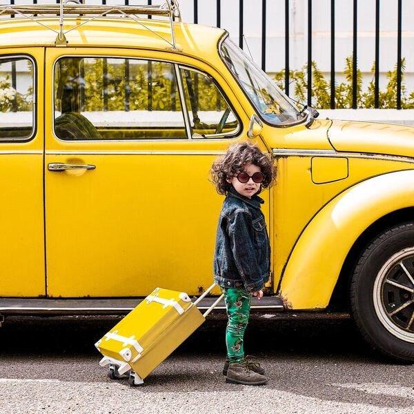 【送料無料】Olli Ella(オリエラ)<br>See-Ya Suitcase <BR>キッズキャリーバッグ(スーツケース)