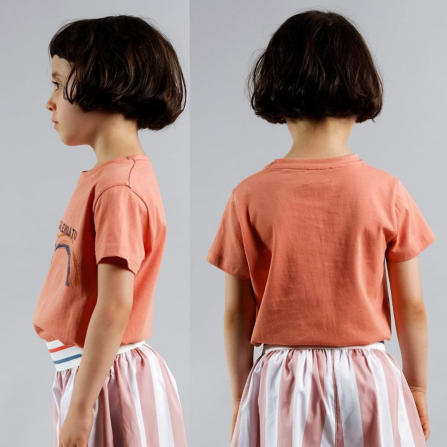<img class='new_mark_img1' src='https://img.shop-pro.jp/img/new/icons20.gif' style='border:none;display:inline;margin:0px;padding:0px;width:auto;' />【30%OFFセール】WOLF&RITA(ウルフアンドリタ) 2019SS <BR>t-shirt SEBASTIAO orange<BR>キッズ半袖Tシャツ