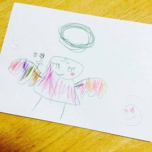 天使のぬりえ&天使からのメッセージ(umicocco&Maki*Anela)