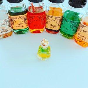 【限定8個】選ばれし者へのプレゼントボトルシリーズ〜進化した魔女からのさらなる贈り物*仕事もお金も♡よくばりブレンド〜