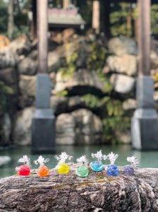 6.九頭龍(コバルトブルー)「七色の龍神たち(Glassチャクラドラゴン)」 (改)リノアネラ 〜すべての愛しきものたちへの導き〜