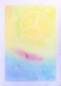 ソウルハーモニーアート*愛の魔法〜ゴールドドラゴン、アマテラスからの導き〜